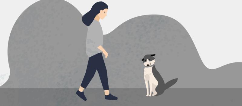 Come affrontare il lutto per l'animale domestico