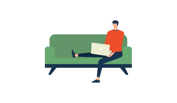 Smart-working: come ridurre lo stress da telelavoro