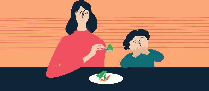 Come i genitori condizionano il rapporto dei figli con il cibo