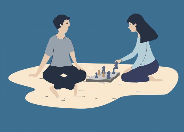 La terapia è come una partita a scacchi